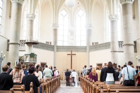 Fun fact: Most Protestant wedding services in Europe are up to (or over!) an hour long.